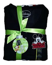 Mickey Mouse Non Footed Pajamas Set 2 PC Microfleece S M L XL or XXL ALMOST GONE