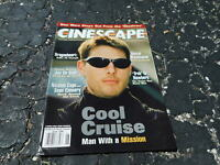 JUNE 1996 CINESCAPE early movie magazine - TOM CRUISE