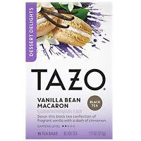 Tazo Dessert Delights Tea Vanilla Bean Macaron Sugar and Calorie Free