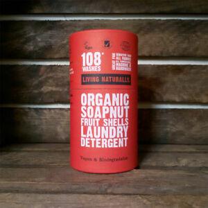 Organic Soapnuts 225g Tube - 108 Washes - Zero Waste - Vegan / Earth Friendly