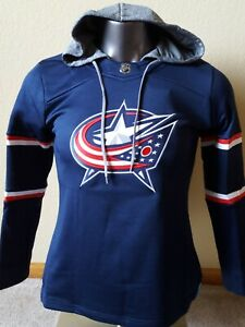 New Columbus Blue Jackets NHL women's M NHL hoodie with tags plus FREE shipping