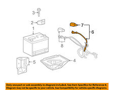 Chevrolet GM OEM 2005 Corvette-Battery Cable 15832652