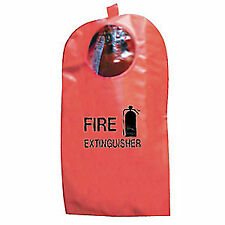 Steiner Vinyl Coated Fire Extinguisher Cover w/Window,5-10 lb, Xt5Wg, Red