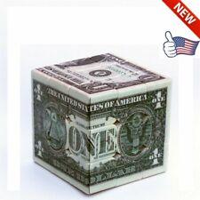 3x3x3 Magnetic Speed Magic Cube USA Dollar Pattern Rubix Rubik's Puzzle Toy US