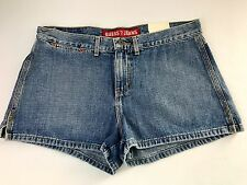 GUESS Jean Shorts Sz 31 FLAT FRONT Blue Denim New With Tags FREE SHIPPING