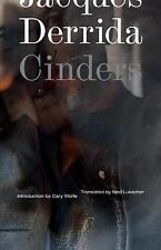 Cinders 28 by Jacques Derrida (2014, Paperback)