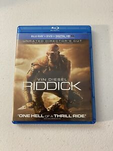 Riddick (Blu-ray/DVD, 2014, 2-Disc Set, Unrated Includes Digital Copy...