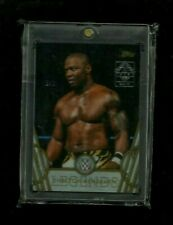 Shelton Benjamin 2019 Topps Transcendent WWE WRESTLING LEGENDS VIP Parallel #1/1