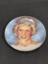Princess Diana Collector Plate Wedding Portrait Danbury Mint Barry Morgen