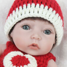 Lifelike 10 in. Anatomically Correct Reborn Doll Newborn Baby Girl With Clothes