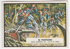 Topps A&BC Civil War News Gum Card Spain Spanish language printing #73