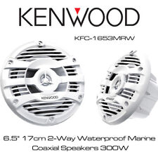 "KENWOOD KFC-1653MRW - 6.5"" 17cm 2-Way IMPERMEABILE MARINE ALTOPARLANTI COASSIALE 300W"