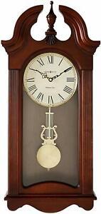 Howard Miller Malia Wall Clock 625-466 – Cherry, Quartz & Single Chime Movement