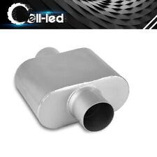 "Performance Single Chamber Exhaust Muffler 3"" Inlet / Outlet 7"" Long Aluminized"