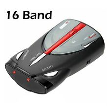 16-Band 360° Car Speed GPS Laser Voice Alert Radar Detector Dive Cobra XRS 9880
