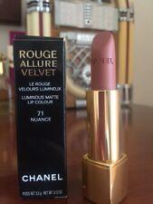 Chanel Nuance 71 lipstick Rouge Allure Velvet Luminous Matte long wear intense