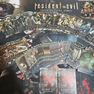 RESIDENT EVIL DECK BUILDING GAME NIGHTMARE EXPANSION CARDS ONLY FAN MADE