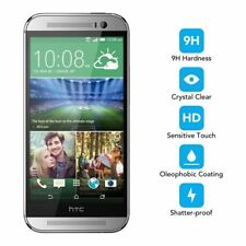 GENUINE TEMPERED GLASS FILM SCREEN PROTECTOR FOR HTC ONE M8