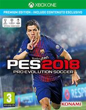 Pro Evolution Soccer PES 2018 Premium Edition (Calcio) XBOX ONE IT IMPORT KONAMI