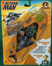 Very Rare Original Action Man Micro Stealth Jet  MISC Hasbro 1996