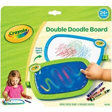 My First Crayola Double Doodle Board, Drawing Tablet, Toddler Toy, Gift Toys