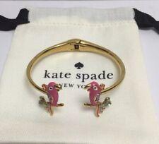Kate Spade  New York Haute Stuff Parrot Bangle Bracelet w/ KS dust Bag New