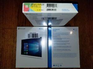 Microsoft Windows 10 Home, SKU KW9-00016, Sealed Box, 32-bit, 64-bit, USB 3