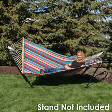 Cotton Fabric Hammock Hammock Stand or Hammock and Stand Combo -Select Options