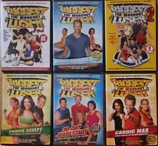 6 The Biggest Loser workout DVD lot, weight loss yoga power sculpt 2 last chance