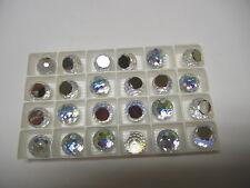 8 swarovski crystal 3/4 flatback disco balls,14mm crystal AB CAL VZ #4861