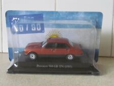ALTAYA /IXO - 1985 PEUGEOT 504 GR TN  - 1/43 SCALE MODEL - ARGENTINA COLLECTION
