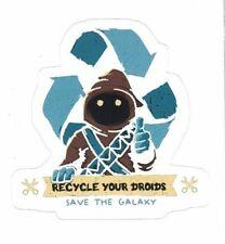 "JAWA Recycle Your Droids STICKER ~ Star Wars 3"" Vinyl  * NEW *"