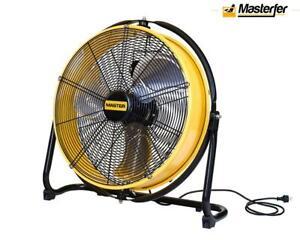 Ventilatore professionale 50 cm Master DF 20p, per capannone, palestra, CrossFit