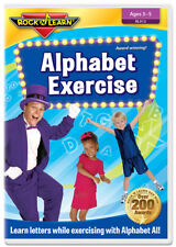 Alphabet Exercise DVD (New) by Rock 'N Learn