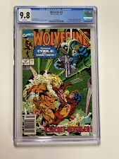 Wolverine 41 Cgc 9.8 Newsstand Edition Marvel X-men Cable 011
