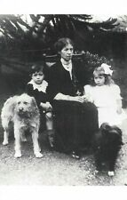 Postcard Liner S.S Titanic 1912 survivors the Dean Family, Bertram Millvina 37V