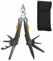 Großes Multitool 9 tlg. Zange Taschenmesser Camping Outdoor Werkzeugset Werkzeug