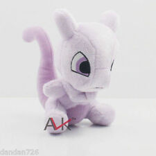 "2018 New 6"" 15CM Mewtwo Pokemon Cute Soft Plush Toy Doll Kids Gift New NNNNN"