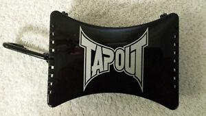 Tapout Pro Mouthguard CASE, Holds 2 Guards, Black, Dishwasher Safe