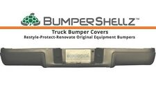 '09-'14 Ford F150 BumperShellz - Matte Black Bumper Covers, w/o sensor holes