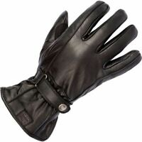 Spada Freeride Women Leather Motorcycle Gloves Black Touring Armoured Waterproof