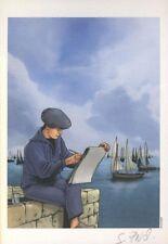 Ex-libris Offset Chasseurs d'Ecume (Les) Dessin en Bord de Mer