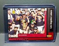 Los Angeles Lakers 2020 Panini NBA Champions #30 Basketball Card