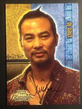 SIMON YAM SIGNED TOMB RAIDER CARD, COA & MYSTERY GIFT'