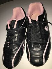 starter size 6 pink and black cleats