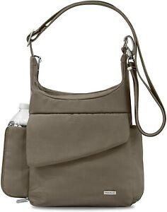 Travelon Anti-Theft Classic Messenger Bag, Slash-Resistant, RFID Blocking