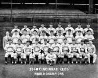1940 Cincinnati Reds Photo 8X10 - Champions B&W Buy Any 2 Get 1 FREE