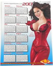 SDCC 2012 EXCLUSIVE The Art Of Barbara Jensen Clothing Optional! 2013 Calendar