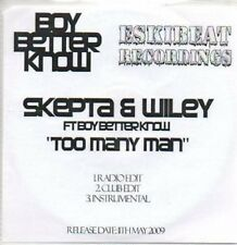 (AI36) Skepta & Wiley, Too Many Man - DJ CD