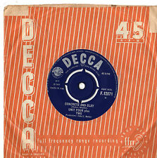 "Unit Four Plus Two - Concrete And Clay 7"" Single 1965"